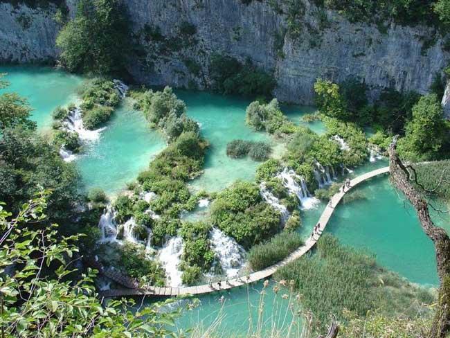 Croatie : Lacs de Plitvice