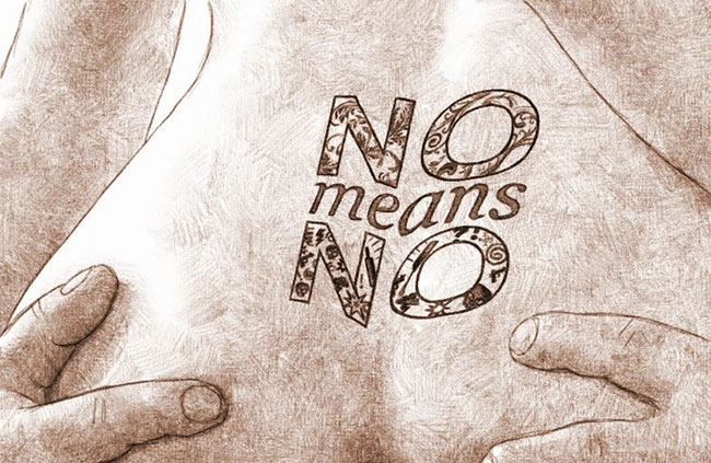 No means no for sex par Audren