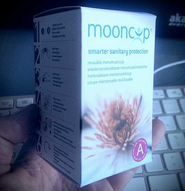 Mooncup Model A Coupe menstruelle