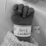 Je Suis Charlie - bébé nouveau-né