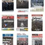 Journaux mondiaux - Marche Républicaine