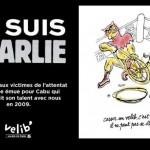 Vélib - Je suis Charlie