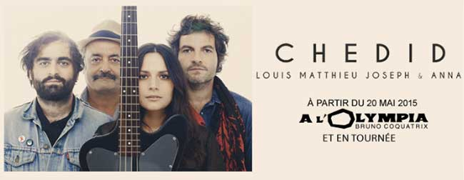 Famille Chedid - Olympia 2015