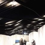 plafond en vague - Philarmonie