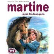 Martine aime les lasagnes !