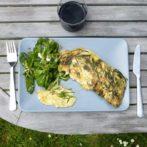 Recette de cuisine : l'omelette aux respounchous